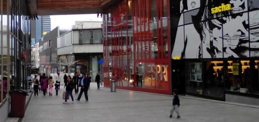 Winkelcentrum in Almere